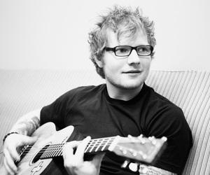 ed sheeran, guitar, and ed image
