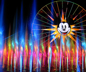 disney, disneyland, and lights image