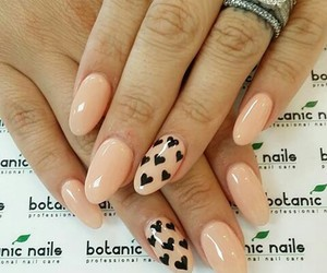 coeur, style, and nails image