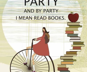 book and party image