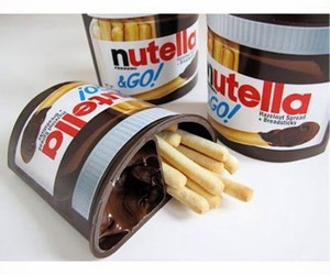 food, nutella, and candy image