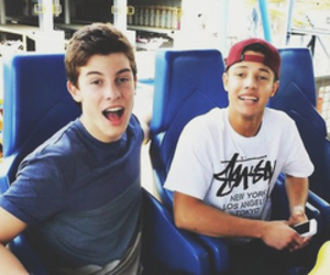 cameron dallas, shawn mendes, and old magcon image