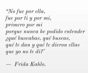 desamor, frida kahlo, and frases en español image