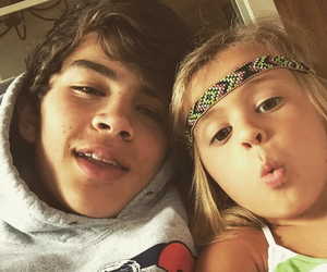hayes grier, magcon, and brothers image