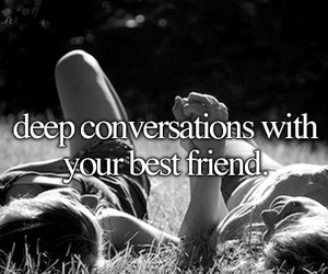 friends, best friends, and conversation image
