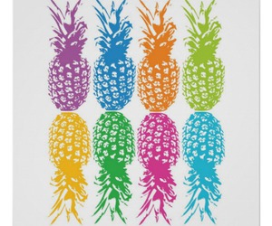 colors and pineapple image