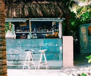 summer, beach, and bar image
