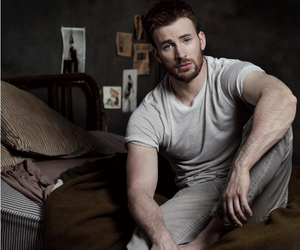 chris evans and chrisevans image