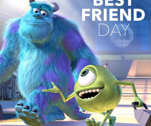 best friend, wazowski, and bff image
