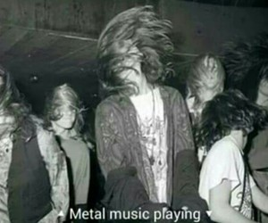 metal, music, and bands image