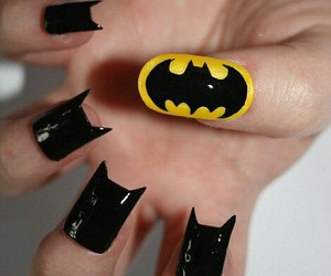 nails and batman image
