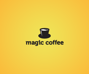black, yellow, and logotype image