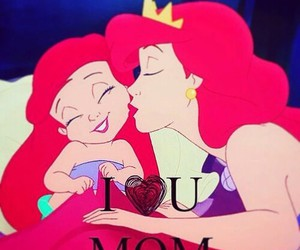 girl, love, and ariel image