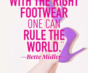 quote, shoes, and heels image