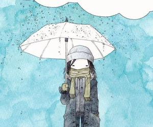 rain, quotes, and sad image