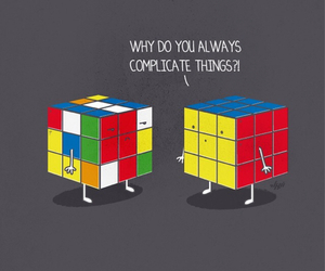 funny, cube, and color image