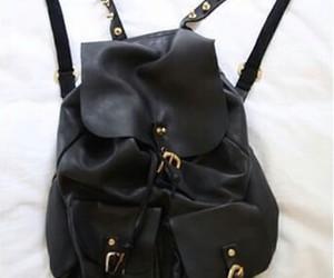 bag, black, and nieten image