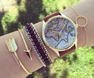bracelets, watch, and accessories image