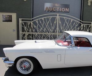 1957, car, and classic image