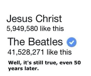 facebook, george harrison, and john lennon image