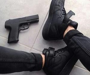 black and nike image
