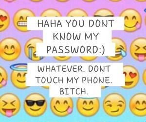 wallpaper, phone, and emoji image