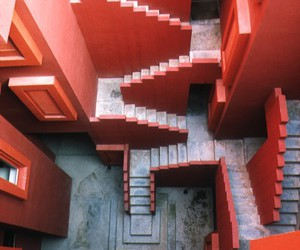 1973, architecture, and stairs image