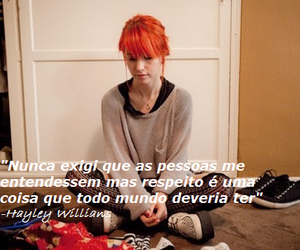 frases, paramore, and hayley willians image
