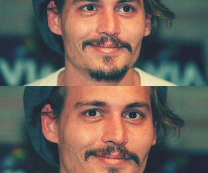 actor, johnny depp, and man image