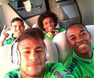 neymar, thiago silva, and brazil image