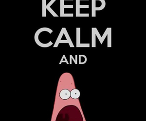 bob esponja, keep calm, and lol image
