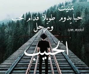 حب, عربي, and فراق image