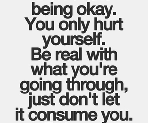 quotes, balance, and hurt image