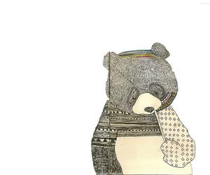 bear and illustration image