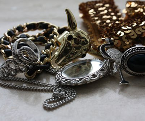 gold, rings, and jewelry image