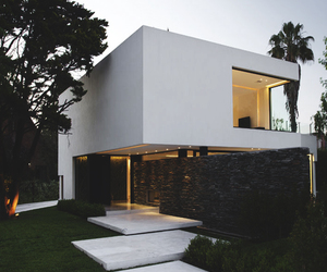 house and white image