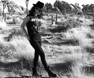 black, black&white, and boots image