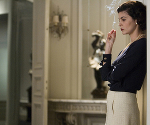 coco chanel, movie, and audrey tautou image