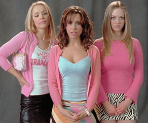 mean girls, movie, and pink image