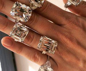 diamond, fashion, and rings image