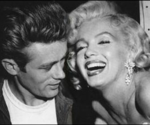 james dean and Marilyn Monroe image
