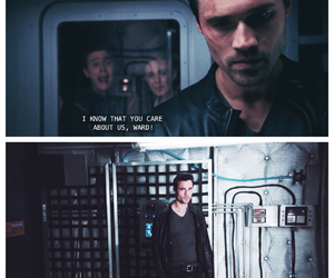 agents of shield, grant ward, and jemma simmons image