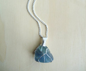 stones, hippie necklace, and boho necklace image