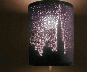 lamp, diy, and city image