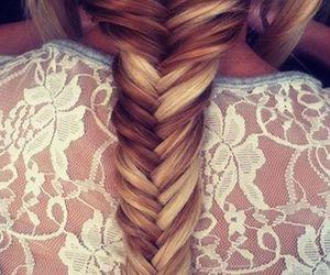 hair, long, and ponytail image