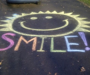 chalk, cute, and drawing image