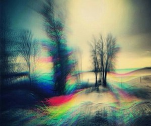 colors, lsd, and trippy image