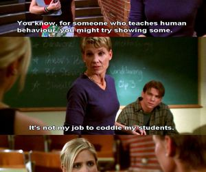teachers, tv shows, and college life image