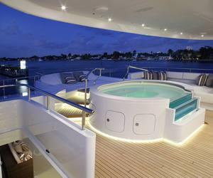 luxury, money, and yacht image