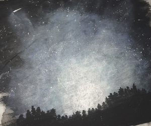 drawing, galaxy, and indie image